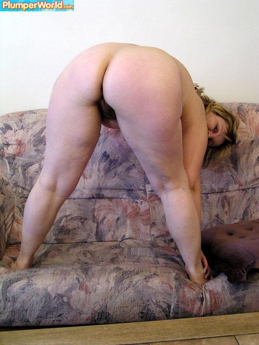 Sexy chubby blonde